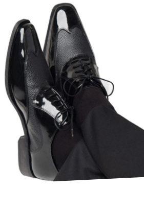 'Manhattan' Black Shoes